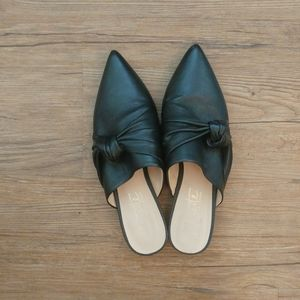 Nanette Lapore Ambar Knotted Bow Mules